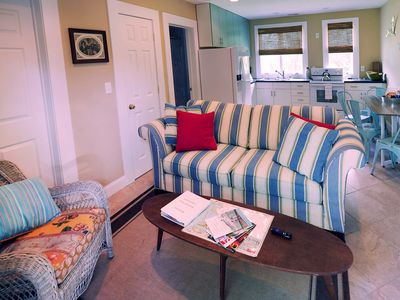 Photo for Quaint ground floor guest house in historic Beaufort, NC.