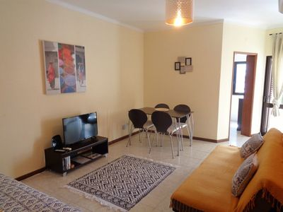 Photo for Vacation Apartment with air conditioning and free wi-fi in Salgados Beach