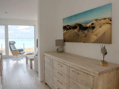 Photo for Timeless ground floor apartment located directly on the Schlei with clear water views - a high standard with two terraces, sauna and whirlpool