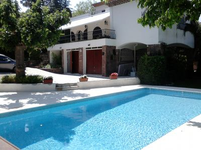 Photo for Villa in the Gulf of St. Tropez with private pool and 150m from the beach