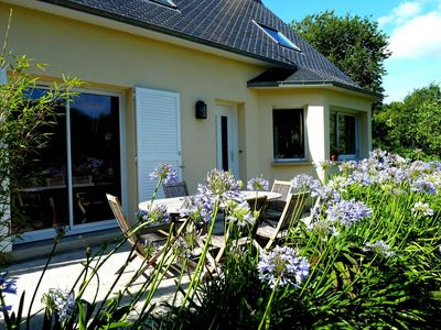 Photo for Large family home in the countryside, L'Abbé bridge accessible by bike