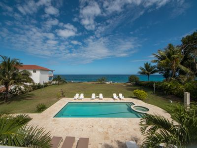 Photo for 7-bedroom Oceanfront Villa with Pool, Amazing Sea Views, Guest-Friendly