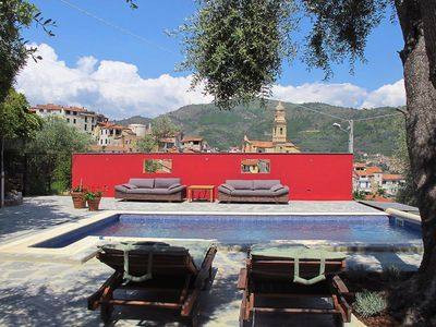 Photo for Boscomare Holiday Home, Sleeps 4 with Pool and Air Con