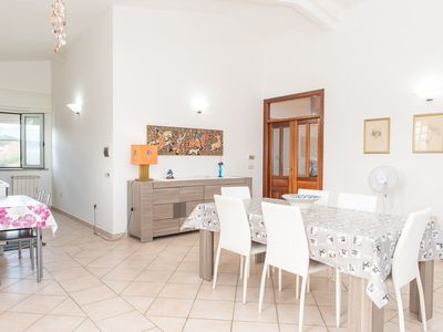 Photo for Only a few meters from the beach - Casa La Caletta