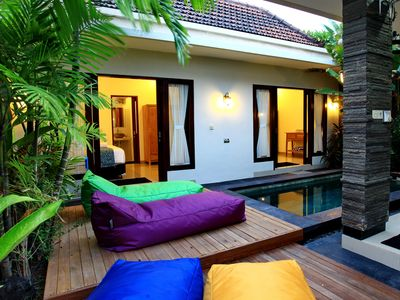 Photo for A beautiful Villa located on the boarder of Seminyak / Legian!