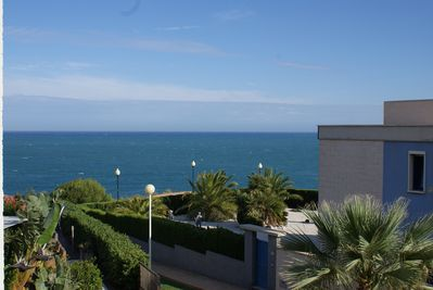 Punta Glea apartment has wonderful sea views