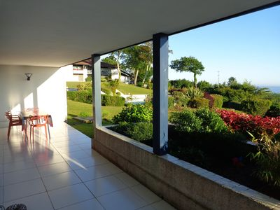 Photo for T3 62m2 SEA VIEW, Pool, Private Garage, Park