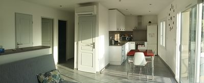 Photo for Apartment refurbished 4 people seaside - the beach on foot!