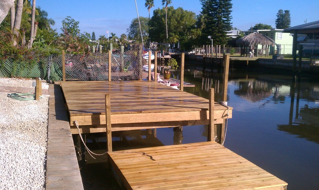 Waterfront House Htd Pool Dock Walk To Times Square Optional 3rd Bed W Bath Fort Myers Beach