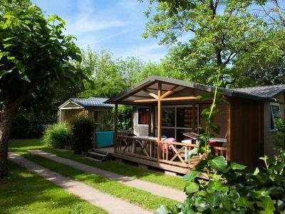 Photo for Camping Au Soleil d'Oc **** - Chalet Samoa 4 Rooms 6 People