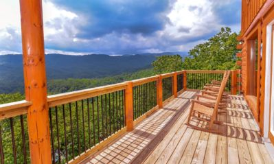 Photo for May 40% OFF! Indoor Pool & Theater Room! 1.5 miles to Parkway; Mountain Views!!