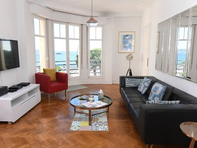 Photo for Exceptional Two Bedroom Croisette Apartment