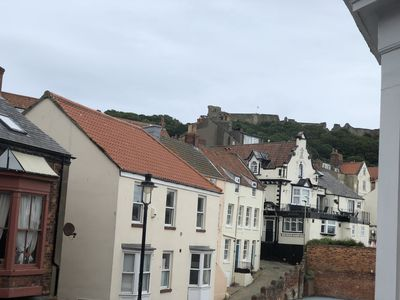 Photo for Scarborough South Bay Castle view apartment one