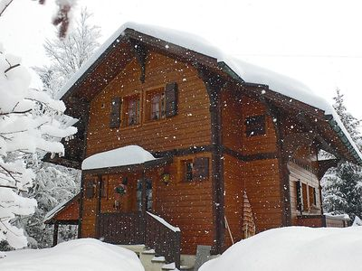 Photo for Vacation home Chalet Val Rose  in Gryon, Alpes Vaudoises - 4 persons, 2 bedrooms