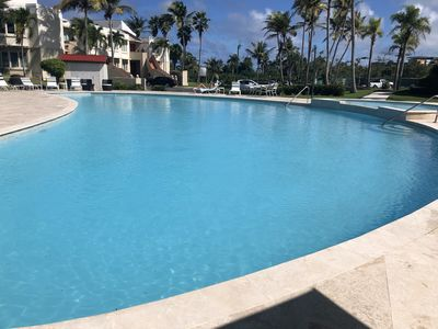 Photo for 3200 sq ft Luxurious condo in Dorado community.  3 bd/ba. Private beach, pool