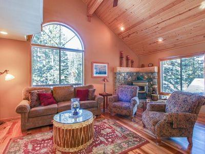 Photo for Lovely mountain home w/ shared pool, hot tub, & more - close to golf & skiing!