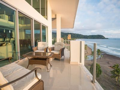 Photo for Penthouse Suite, 2 levels, Pool & Ocean View, Sleeps 10!
