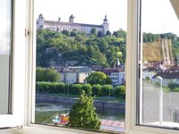 Centrally placed apartment with great views in this vibrant town