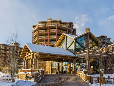 Photo for Ski-in Ski-out Four Bedroom Condo at Westgate Canyons Resort