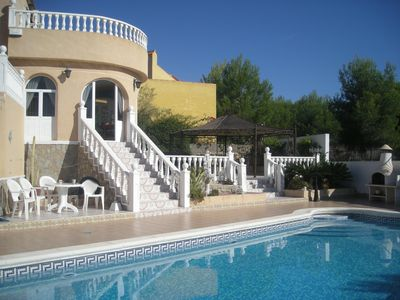 Photo for Luxury Secluded Villa, Castillo de Montemar, Private 12m Pool, Sleeps 6.