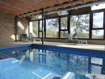 ElRefugi - Viladomat rural - Cozy 2 bedroom accommodation, swimming pool, SPA