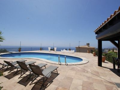 Photo for Rent PRIVATE VILLA with SWIMMING POOL, VIEWS FRONT OF SEA