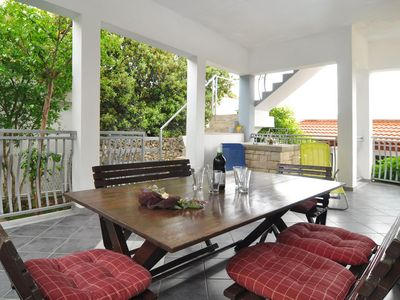 Photo for Two bedroom apartment with terrace Ražanj (Rogoznica)