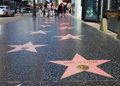 """1 block from the Walk of Fame. You can see your favorite """"Stars"""" w/ a short walk"""