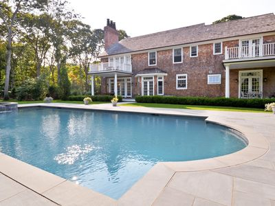 Photo for Hi-End Luxury Family Retreat - 6 Bedrooms, Pool, Bike to Beach or Town