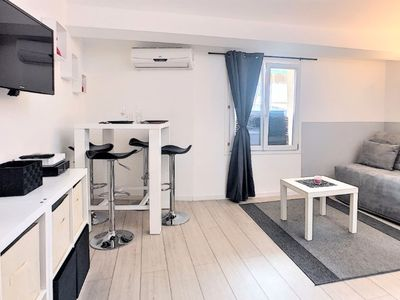 Photo for Nice studio with mezzanine for 4 people in center