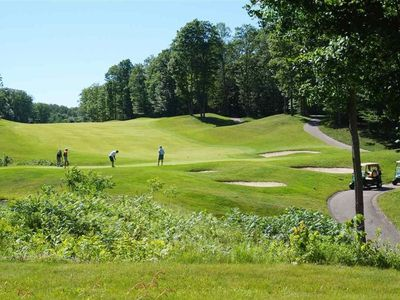 """Photo for """"Tee & Ski""""- An Amazing Cedar River Golfside Condo - 50yds from Golfing & Skiing"""