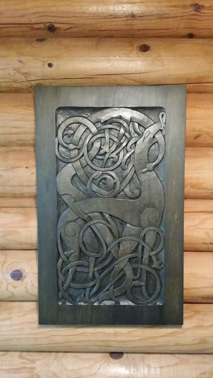Traditional Nordic carving done by a renown local carvers Norsk Woodworks & Quiet Nordic Cabin on Premier Silver Lake-D... - VRBO pezcame.com