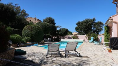 Photo for Splendid villa in a quiet area 800 meters from the beach and the port of Brusc