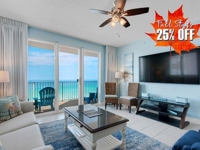 Photo for 25% OFF FALL! Updated BEACH View w/ Pool~Hotub @Resort +FREE VIP Perks &MORE!