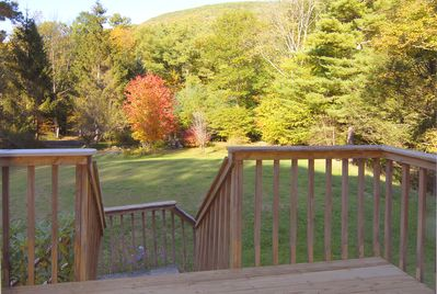 Front deck view of Sheridan Mountain.