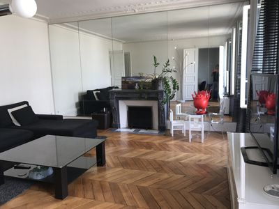 Photo for Rent apartment 110m2 Paris 8th near Champs-Elysees