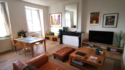 Photo for Private apartment along the Scheldt + Private parking