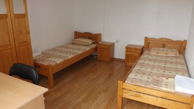 Double room with mountain view in a Tortoise Centre, Banya, 6 km. from the sea
