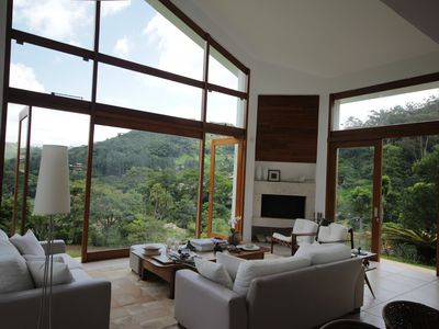 Photo for House with contemporary architecture, wonderful view.