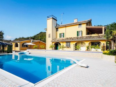 Photo for Dimora Oceano, cottage and apartment with a pool, just 9 km from the beaches of Porto San Giorgio