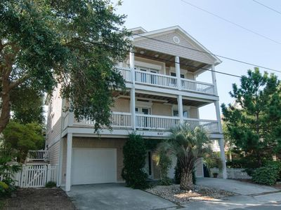 Photo for Impressive single family home located walking distance to the ocean and sound