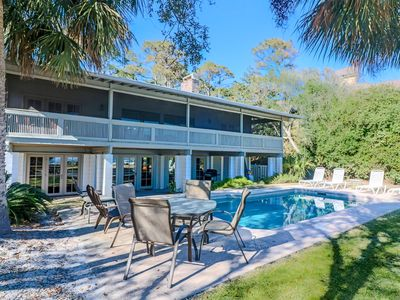 Photo for 5 bedroom Oceanfront Beach Cottage w/ Pool