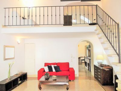 Photo for 2 bedroom apt - historical building - private parking