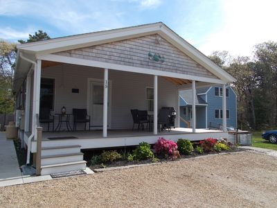 Photo for Newly renovated home w/ deck & amazing location near town/beach - 1 dog OK!