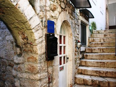 Photo for Charming Room with Old Stone features, in Trogir Old Town