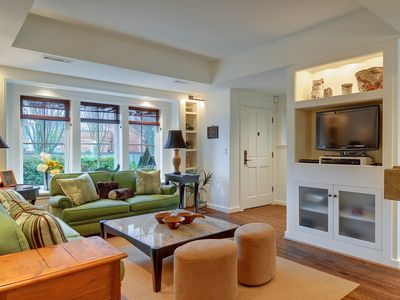 Photo for NEW LISTING! Luxury home w/ gorgeous patio and fireplace - close to downtown!