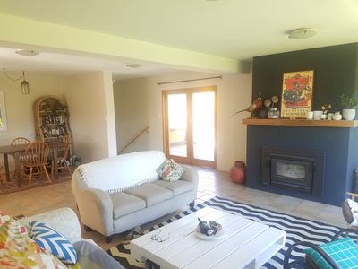 Photo for Character home in quiet cul de sac near lake with mountain views.