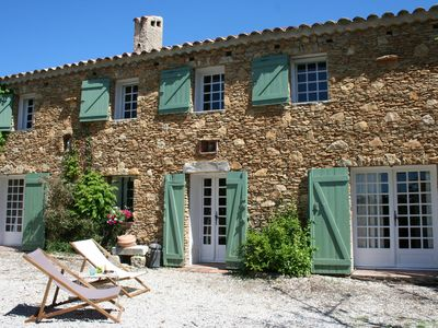 Photo for Provencal farmhouse charm, Le Castellet, 10 people, quiet