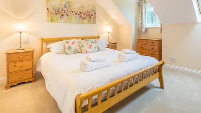 Three bedroom apartment on the 4* Ellingham Self-Catering Cottages complex