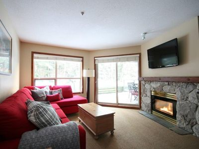Photo for Slope Side Apartment w/ Pool & Hot Tub by Harmony Whistler